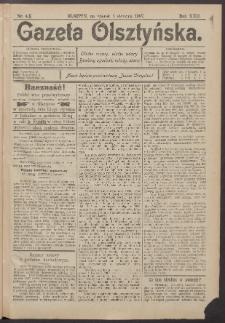 Gazeta Olsztyńska, 1907, nr 4