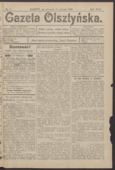 Gazeta Olsztyńska, 1907, nr 5