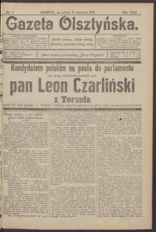 Gazeta Olsztyńska, 1907, nr 9