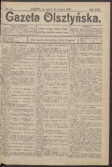 Gazeta Olsztyńska, 1907, nr 13