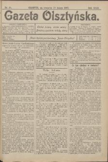 Gazeta Olsztyńska, 1907, nr 26