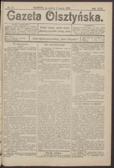 Gazeta Olsztyńska, 1907, nr 27