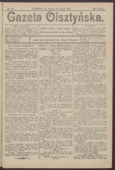 Gazeta Olsztyńska, 1907, nr 34
