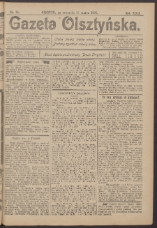 Gazeta Olsztyńska, 1907, nr 38