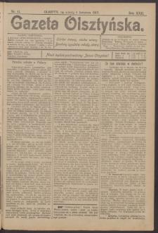Gazeta Olsztyńska, 1907, nr 41