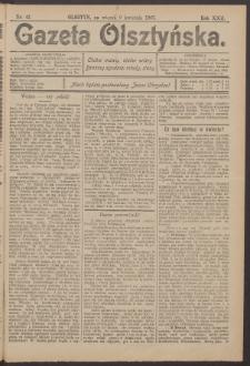Gazeta Olsztyńska, 1907, nr 42