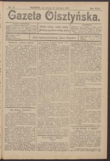 Gazeta Olsztyńska, 1907, nr 45