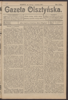 Gazeta Olsztyńska, 1907, nr 64