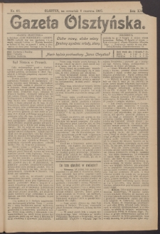 Gazeta Olsztyńska, 1907, nr 66