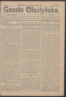 Gazeta Olsztyńska, 1907, nr 69