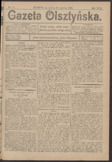 Gazeta Olsztyńska, 1907, nr 76