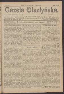 Gazeta Olsztyńska, 1907, nr 80