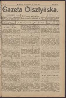 Gazeta Olsztyńska, 1907, nr 84