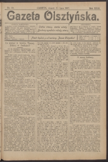 Gazeta Olsztyńska, 1907, nr 89