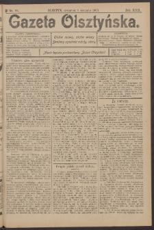 Gazeta Olsztyńska, 1907, nr 90