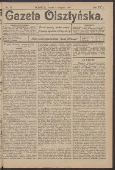 Gazeta Olsztyńska, 1907, nr 91