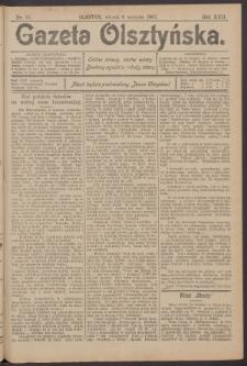 Gazeta Olsztyńska, 1907, nr 92