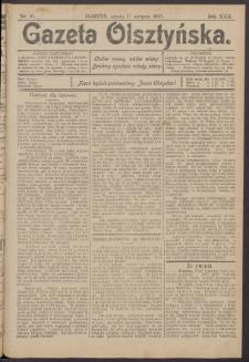 Gazeta Olsztyńska, 1907, nr 97