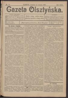 Gazeta Olsztyńska, 1907, nr 99