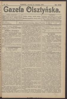 Gazeta Olsztyńska, 1907, nr 111