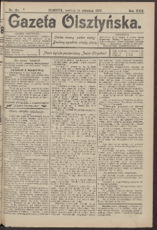 Gazeta Olsztyńska, 1907, nr 114