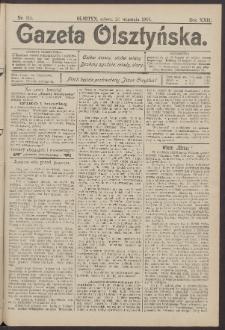 Gazeta Olsztyńska, 1907, nr 115