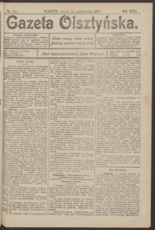 Gazeta Olsztyńska, 1907, nr 125
