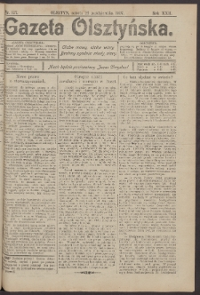 Gazeta Olsztyńska, 1907, nr 127