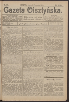 Gazeta Olsztyńska, 1907, nr 137