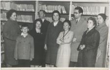 [Otwarcie nowego lokalu Miejskiej Biblioteki Publicznej w Korszach]