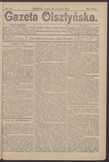 Gazeta Olsztyńska, 1907, nr 140