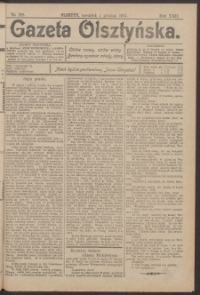 Gazeta Olsztyńska, 1907, nr 144