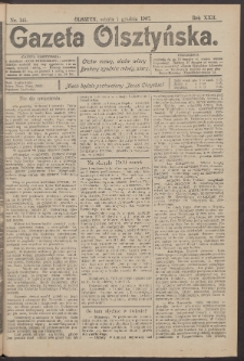 Gazeta Olsztyńska, 1907, nr 145
