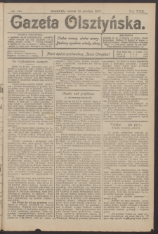 Gazeta Olsztyńska, 1907, nr 148