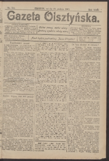 Gazeta Olsztyńska, 1907, nr 154