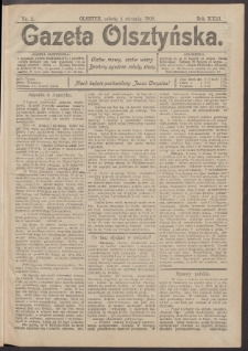 Gazeta Olsztyńska, 1908, nr 2