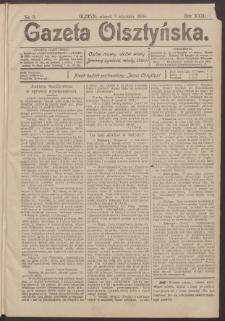 Gazeta Olsztyńska, 1908, nr 3