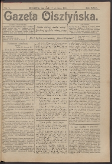 Gazeta Olsztyńska, 1908, nr 7