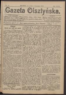 Gazeta Olsztyńska, 1908, nr 47
