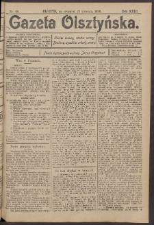 Gazeta Olsztyńska, 1908, nr 48