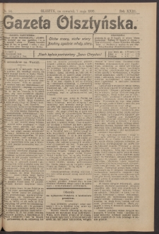 Gazeta Olsztyńska, 1908, nr 54