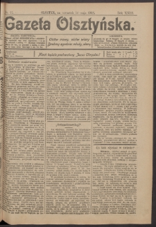 Gazeta Olsztyńska, 1908, nr 57