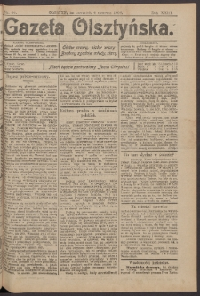 Gazeta Olsztyńska, 1908, nr 66