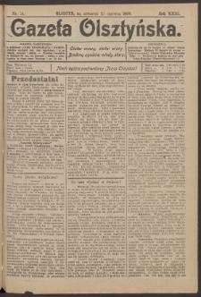 Gazeta Olsztyńska, 1908, nr 74