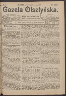 Gazeta Olsztyńska, 1908, nr 75