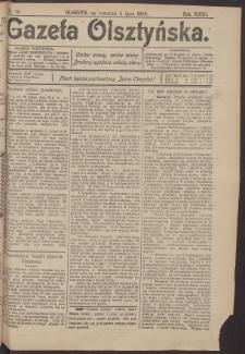Gazeta Olsztyńska, 1908, nr 76