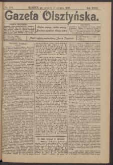 Gazeta Olsztyńska, 1908, nr 100