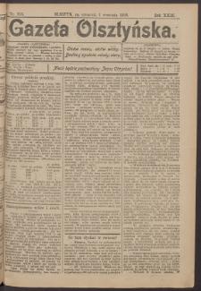Gazeta Olsztyńska, 1908, nr 103