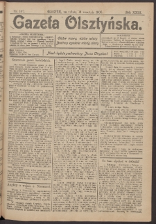 Gazeta Olsztyńska, 1908, nr 107