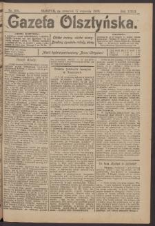 Gazeta Olsztyńska, 1908, nr 109
